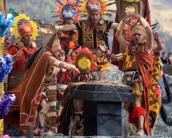 Inca-Opfergaben
